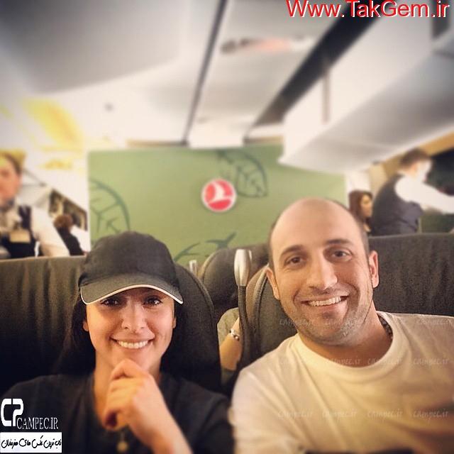 2 عکس جدید از علی سرابی و همسرش